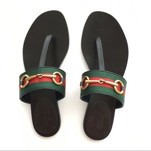 ce7cf508b3b4 Gucci Shoes - Gucci Querelle thong sandals Sz 36 new